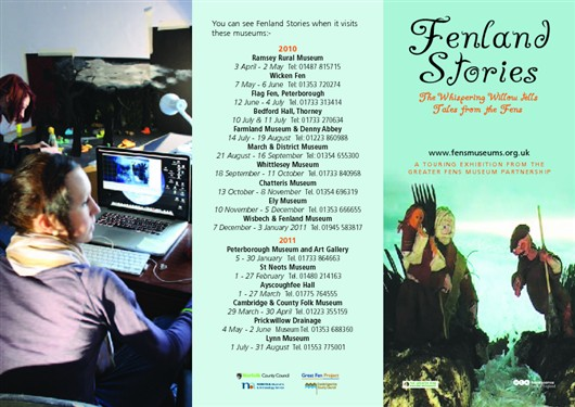 Photo:Fenland Stories Leaflet - Page 1